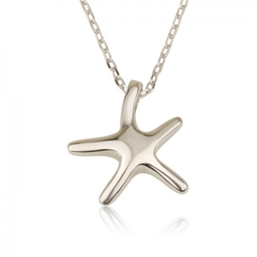seastar necklace in 925 sterling silver
