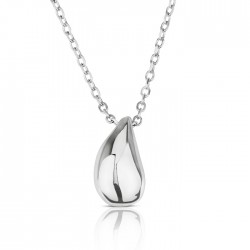 small teardrop Pendant necklace in 925 sterling silver