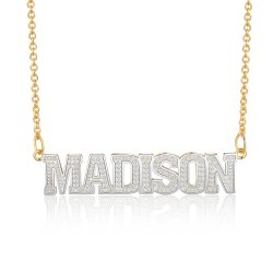 Capital letters name necklace * 15% OFF WITH CODE:  sale1 *