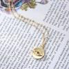 Evil eye talisman pendant necklace