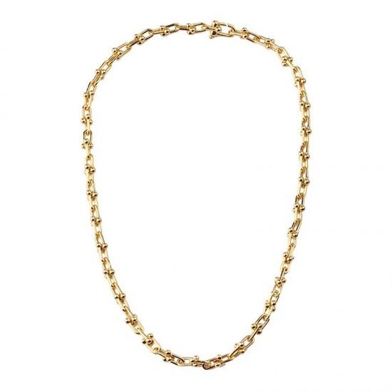 U Shape Link Chain Necklace