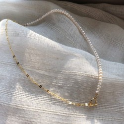 925 sterling silver choker necklace with freshwater pearls