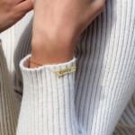 Bar Bracelet 18K Gold Plating