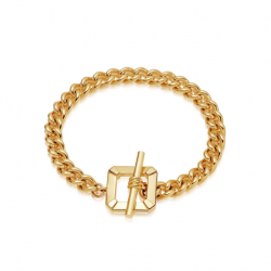 Cuban chain bracelet - square bar