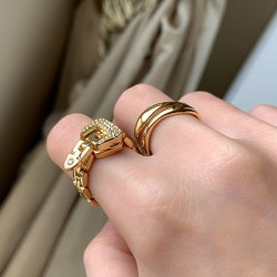 Belt shaped ring