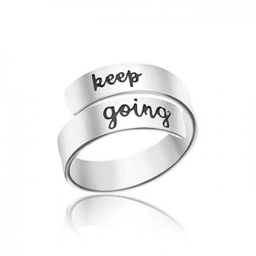 keep going ring-  unicque adjustable ring in 925 sterling silver