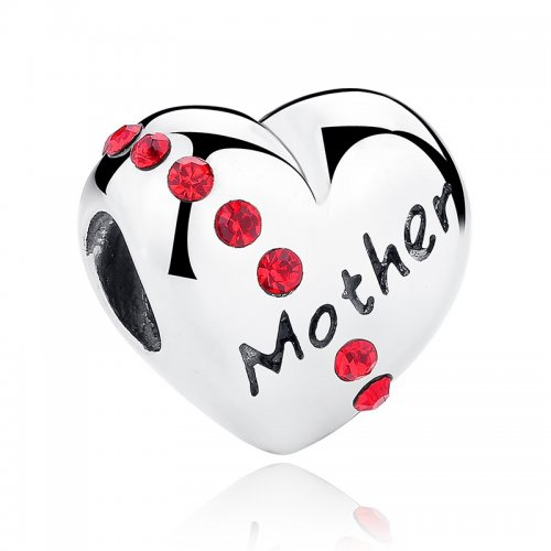 """silver """"mother"""" bead"""