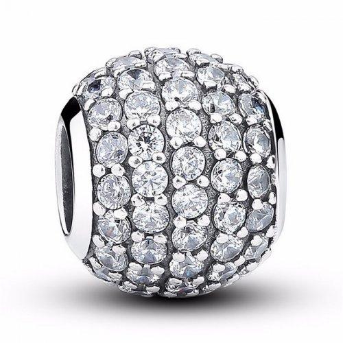 sterling silver bead for bracelet