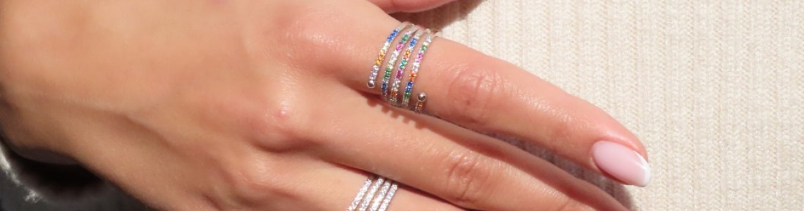 Cubic zirconia collection