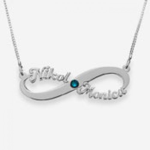 Infinity necklaces 20% off