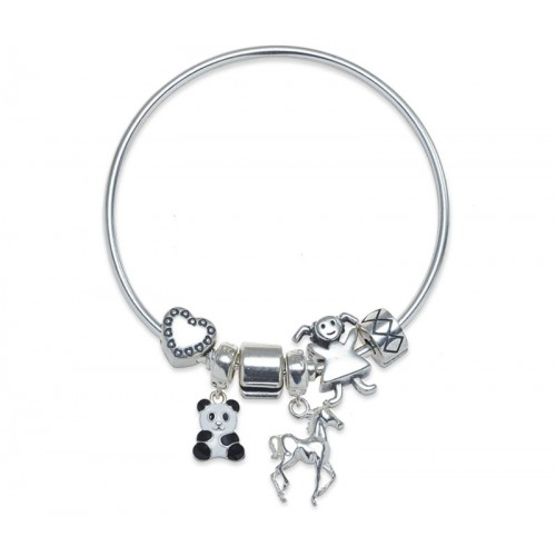 Animal Lover Charms Bracelet