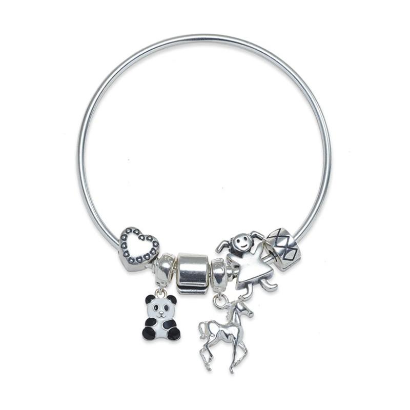 Animal Lover Charms Bracelet