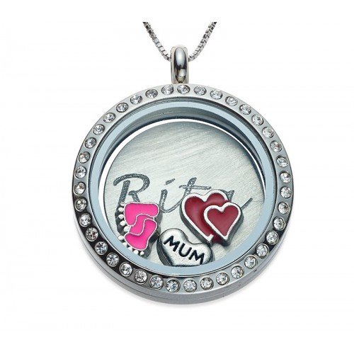 New Mom locket parcel